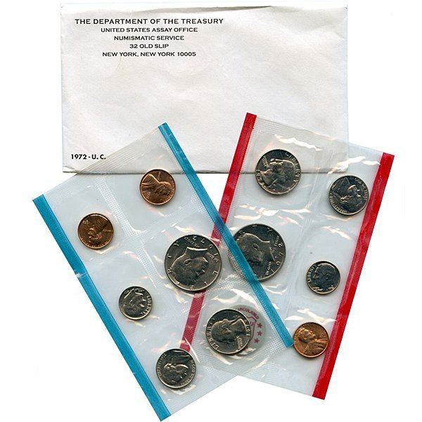 1972 United States Mint Coin Set