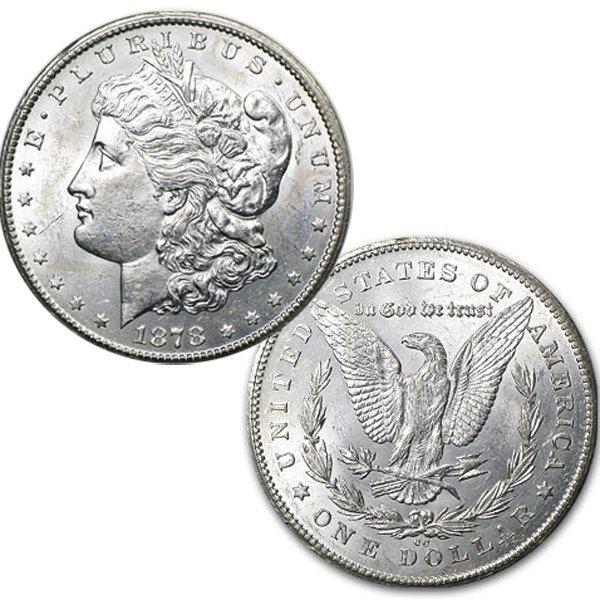 1878-CC $1 Morgan Dollar - Uncirculated
