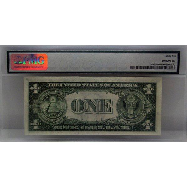 1935-D $1 Silver Certificate Gem UNC 66 PMG - 2