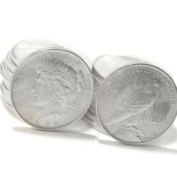 40-Coin Set: Peace Silver Dollars - Uncirculated