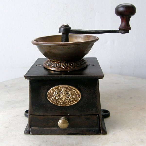1800s Old English Coffee Mill