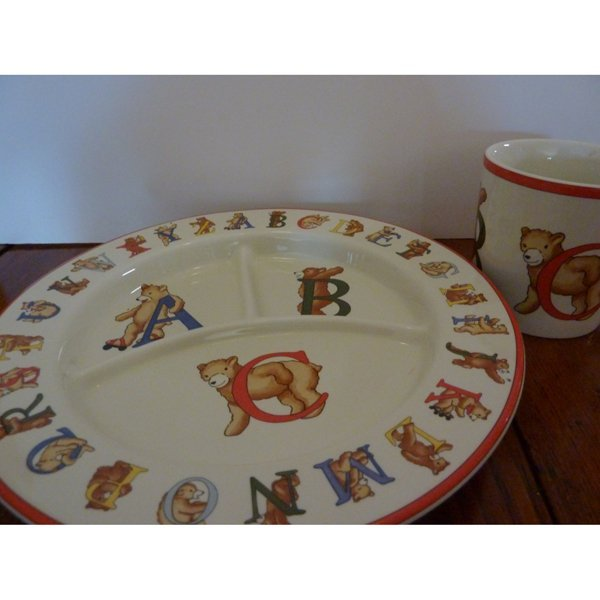 Tiffany and Co. Child Dishes Set