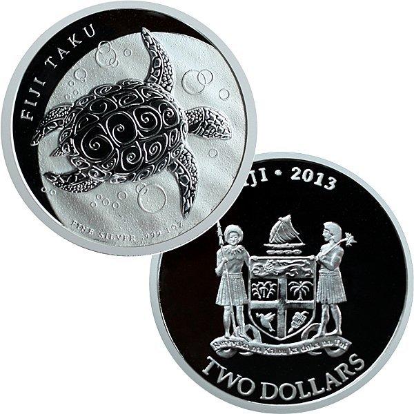 2013 New Zealand Silver Fiji Taku - Uncirculated