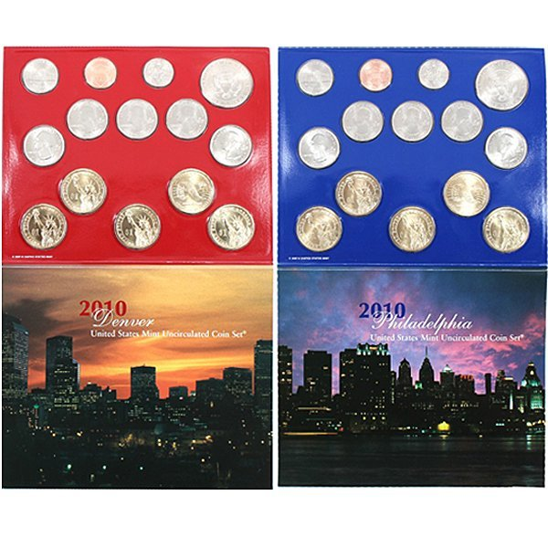 2010-D & P United States 28-Coin Mint Set