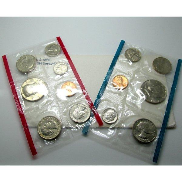 1980-D & P US Mint Uncirculated Coin Set