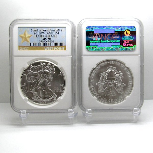 2013-(W) Eagle Early Releases MS70 NGC - Star Label