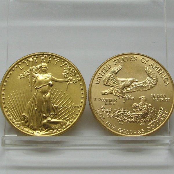 1/4 Oz American Gold Eagle - Uncirculated
