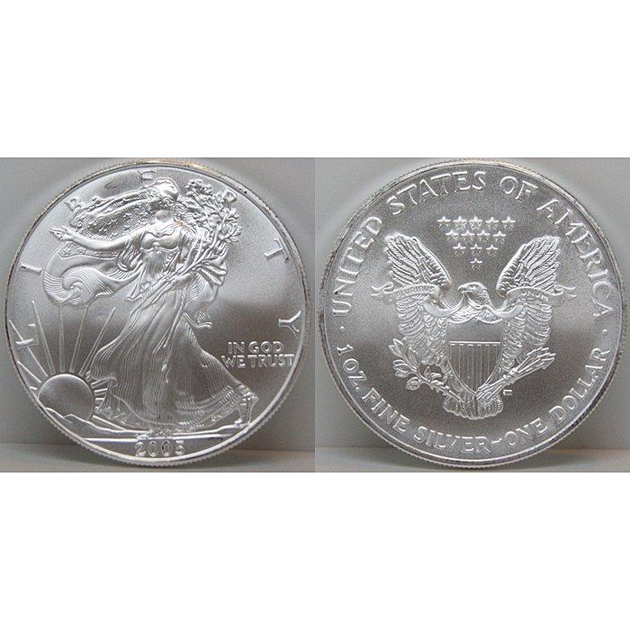 1 Oz Silver American Eagle - Uncirculated