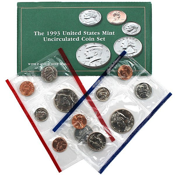 1993-D & P United States Mint Coin Set