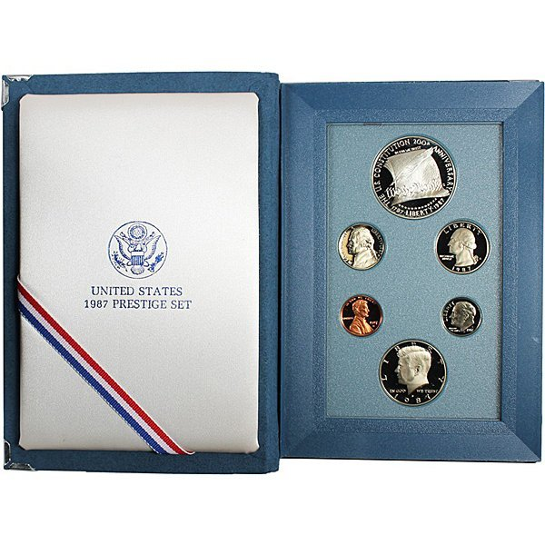 1987-S Prestige Proof Set w/Box