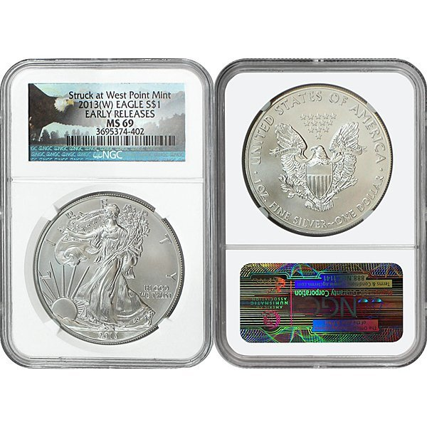 2013-(W) Eagle Early Releases MS69 NGC - Bald Eagle