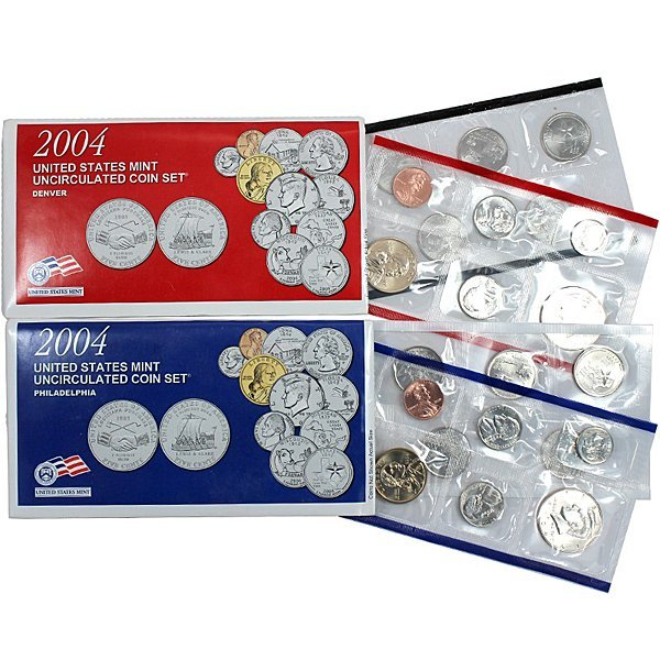 2004-D & P United States Mint Coin Set