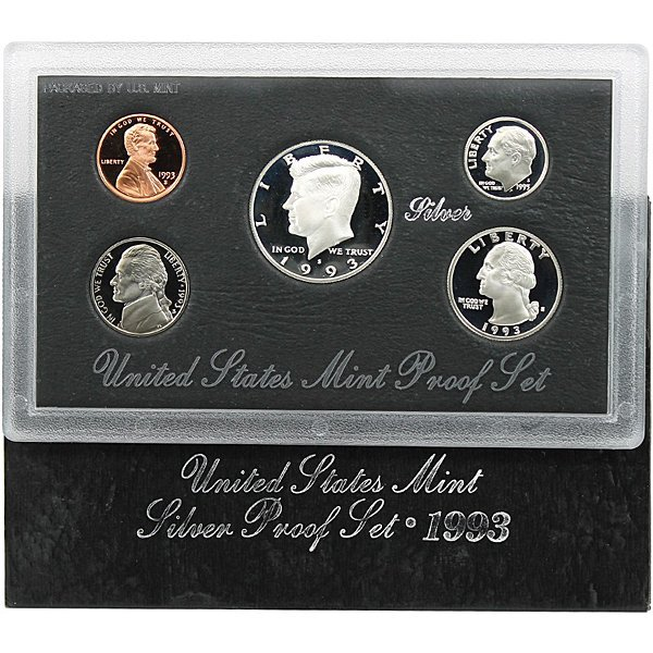 1993-S Proof Silver Set