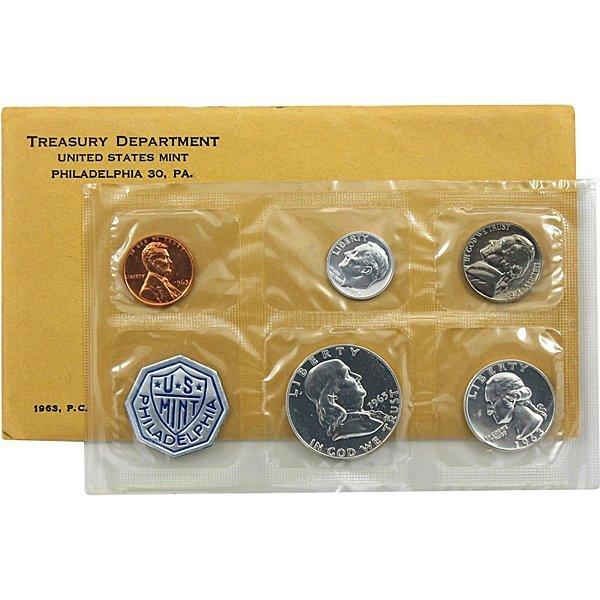 1963 Proof Silver Mint Set