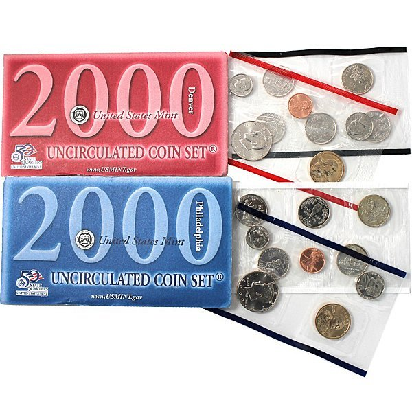 2000-D & P United States Mint Coin Set