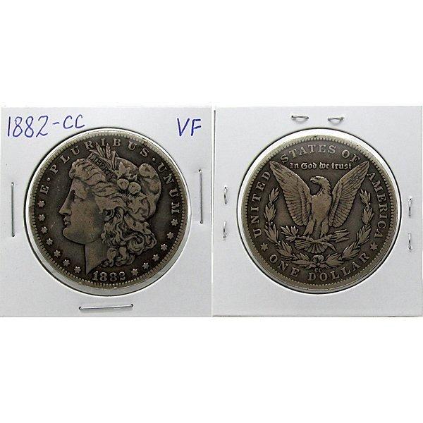 1882-CC $1 Morgan Silver Dollar - Very Fine