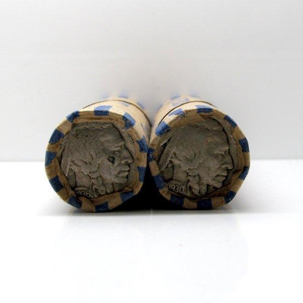 2 Roll Set: Buffalo Nickel - Full Date