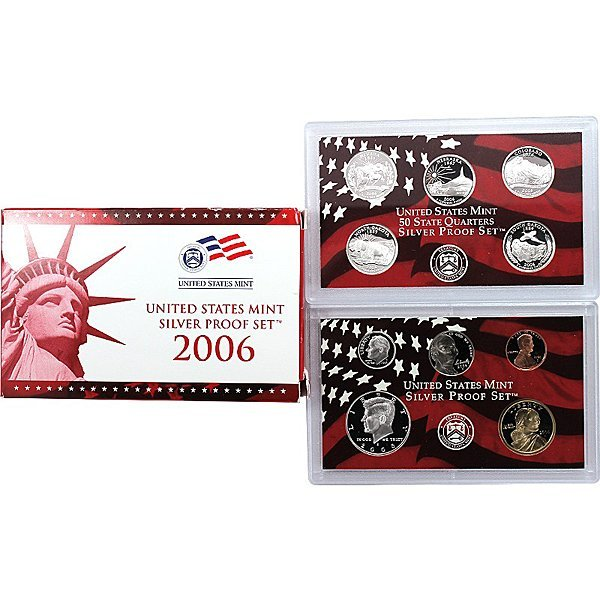 2006-S Proof Silver Set