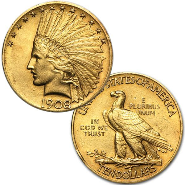 $10 Indian Gold Eagle - Extra Fine