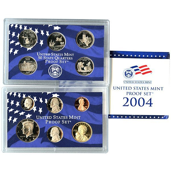 2004-S United States 11-Coin Proof Mint Set