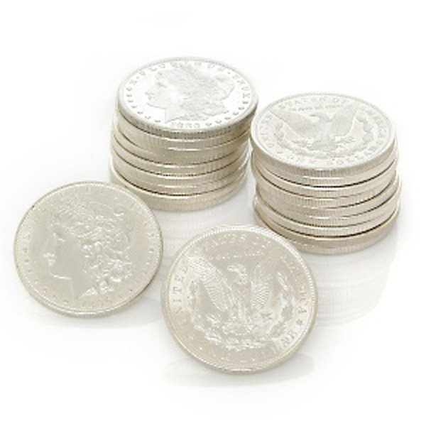 Pre 1921 Morgan Silver Dollars - BU - Set of 20