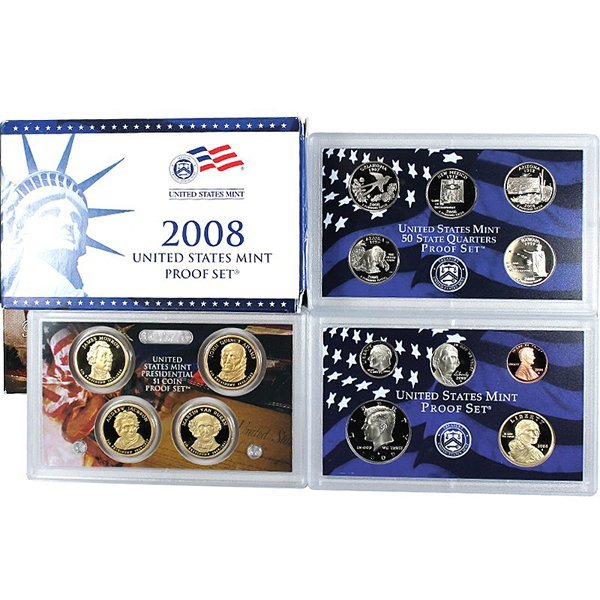 2008-S Proof 14-Coin Set