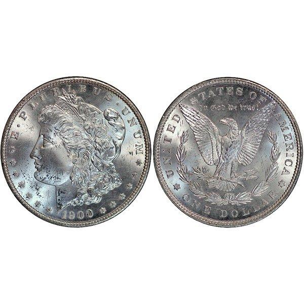 1900 Morgan Silver Dollar - Uncirculated