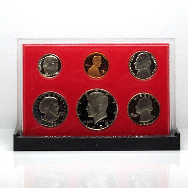 1980-S US Mint Proof Set w/Box&CoA