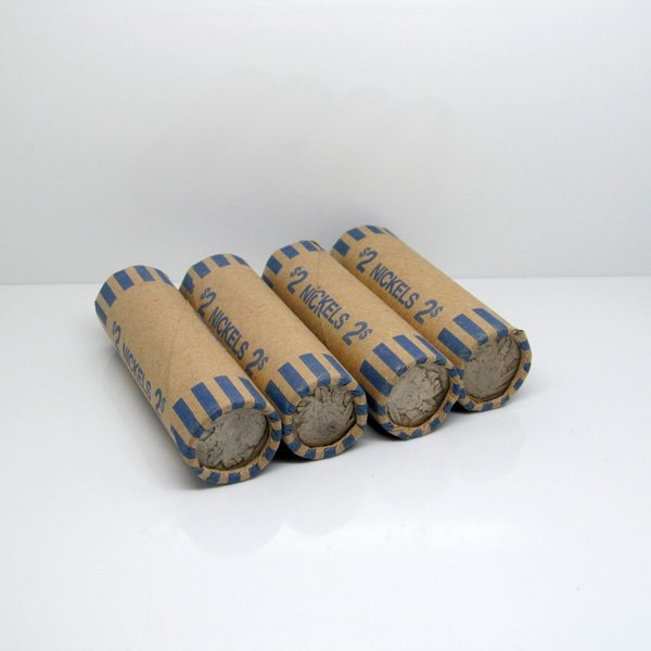 4 Rolls (160) of Buffalo Nickels - Partial Dates