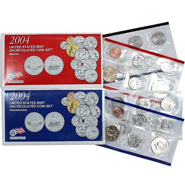 2004-P,-D US Complete Mint Set