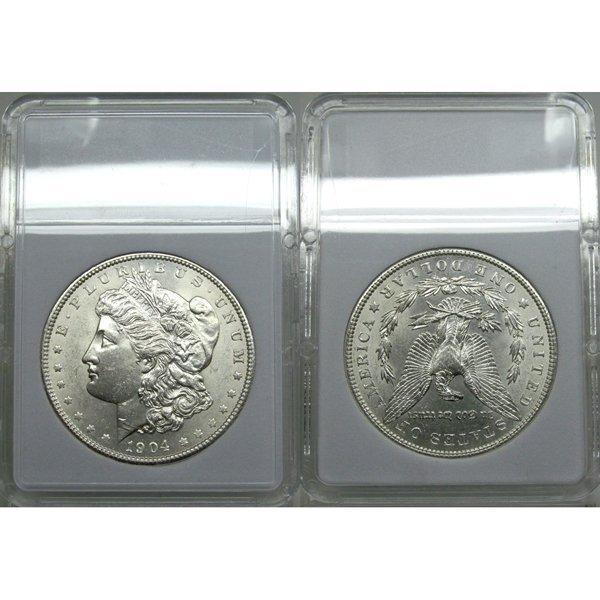 1904 Morgan Silver Dollar - Uncirculated