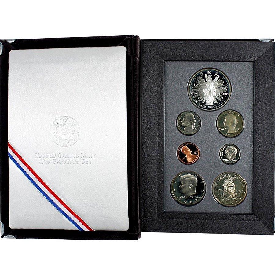 1989-S US Mint Prestige Proof Set w/Box&CoA