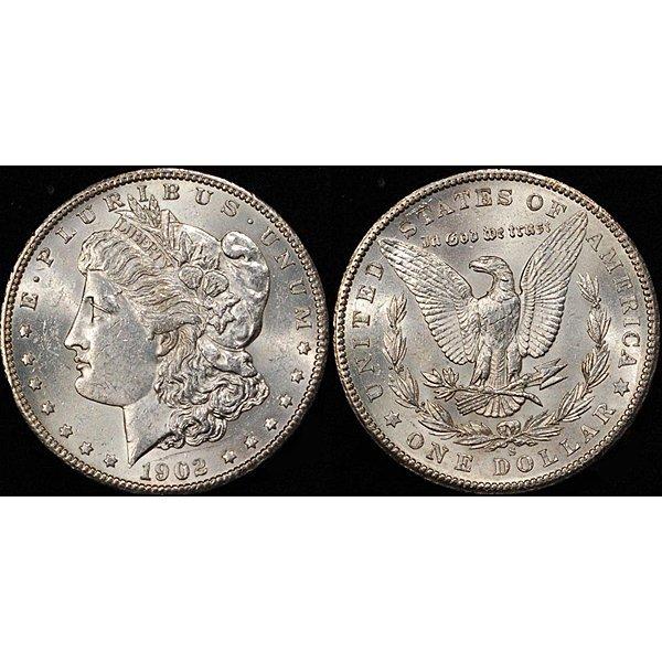 1902-S Morgan Silver Dollar - Uncirculated