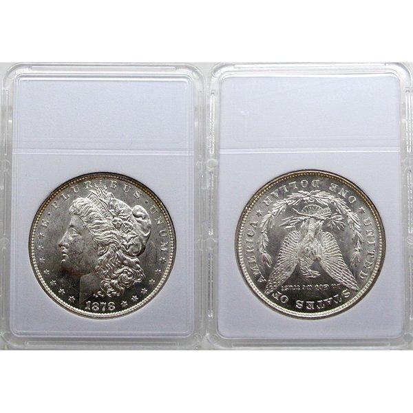 1878 Morgan Silver Dollar 8 TF - Uncirculated