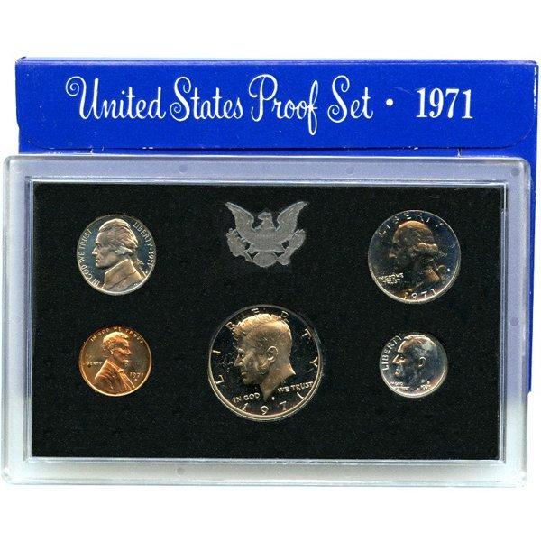 1971-S US Mint Proof Set w/Box&CoA
