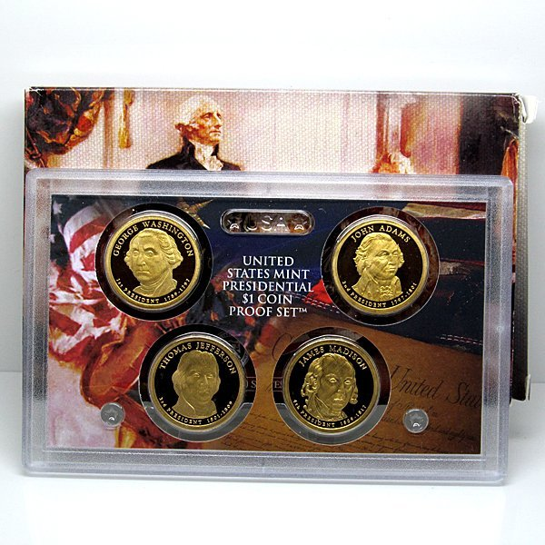 2007-S Presidential 4-Coin Proof Set