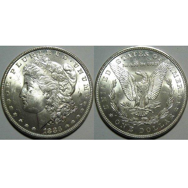 1883 Morgan Silver Dollar - Uncirculated