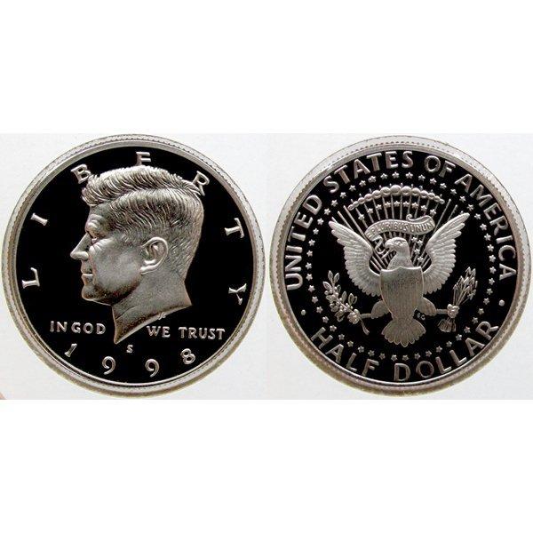 1998-S Kennedy Half Dollar - Gem Proof Coin