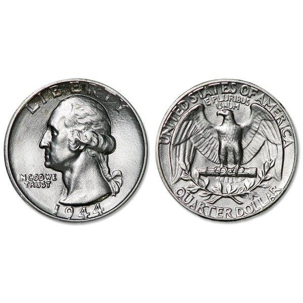 1944 Washington Silver Quarter - Uncirculated
