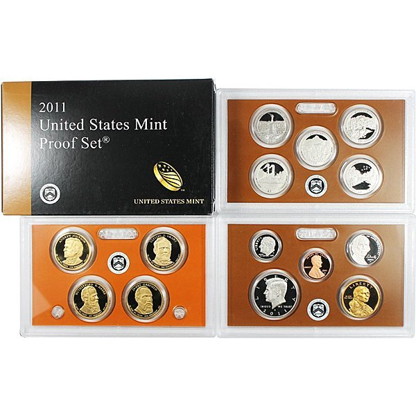 2011-S 14-Coin Clad Proof Set in OGP