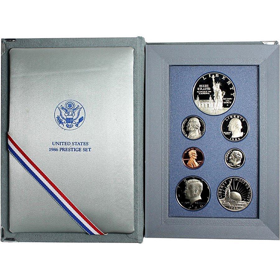 1986-S US Mint Prestige Proof Set in OGP