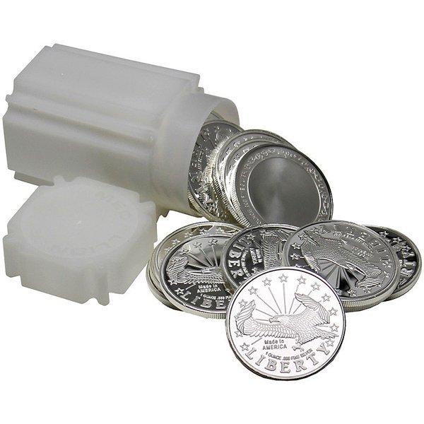 1 Oz Liberty Eagle Design Silver Rounds 20-Coin Set