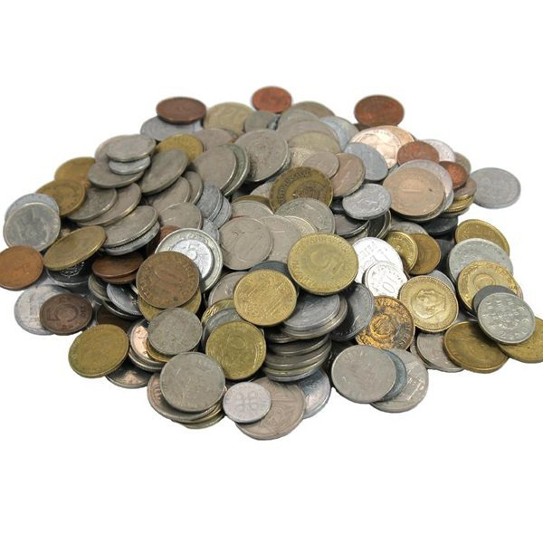 Half-Pound Bag of Mixed Foreign Coins