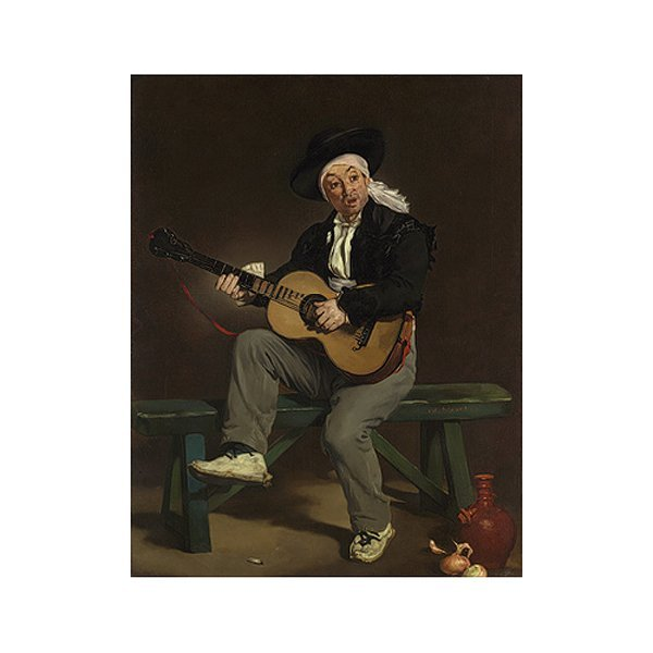 """The Spanish Singer"" by Edouard Manet Oil Painting"