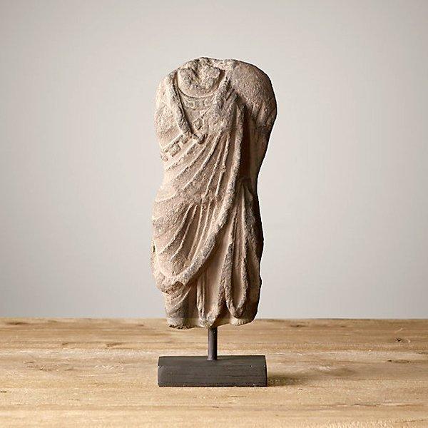"""Greek Men Torso Sculpture 13"""""""