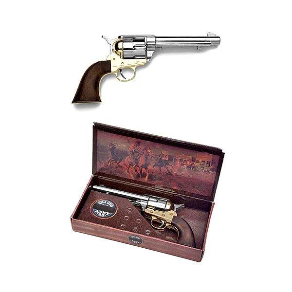 Civil War Army Model Non-Firing Replica - Nickel/Brass