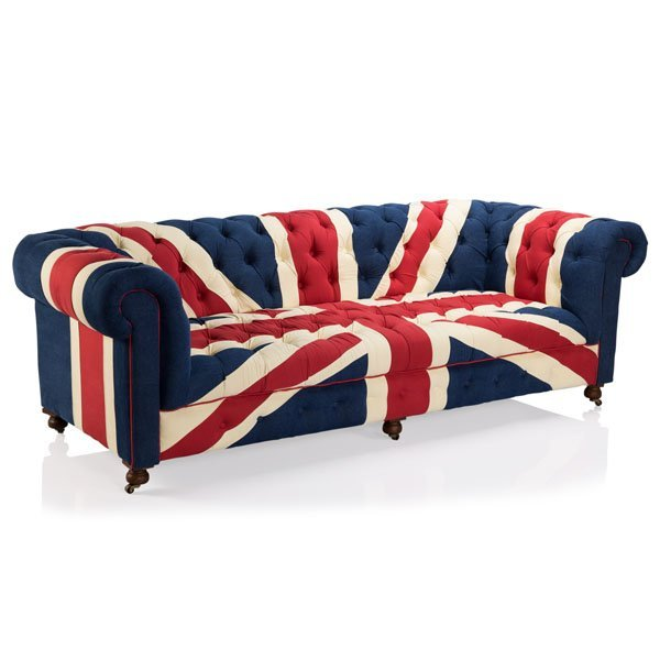 "Bensington Union Jack Sofa 95"""