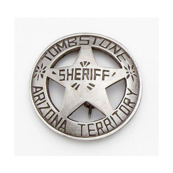 Sheriff's Badge Tombstone