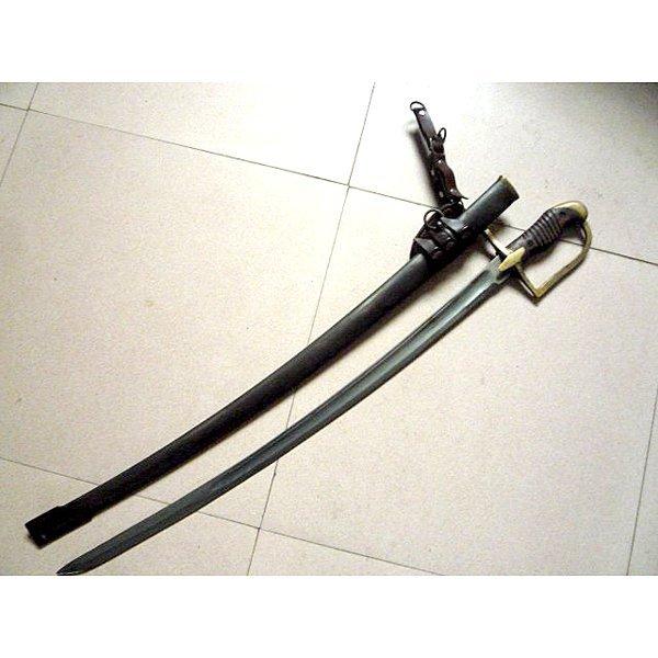 19th -20th Century European Officer Sword & Scabbard