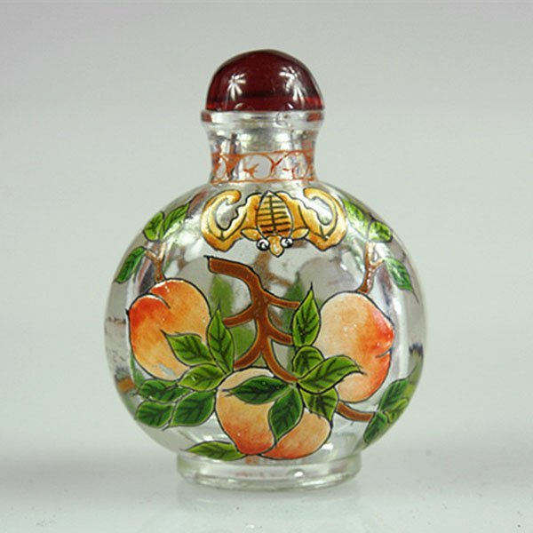 """Old Chinese Crystal Snuff Bottle 3"""""""